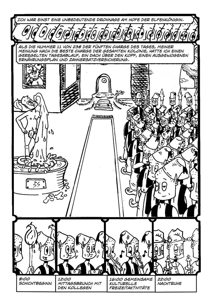 Zwerg/Elf- Abenteuerabschnittspartner: Seite 4