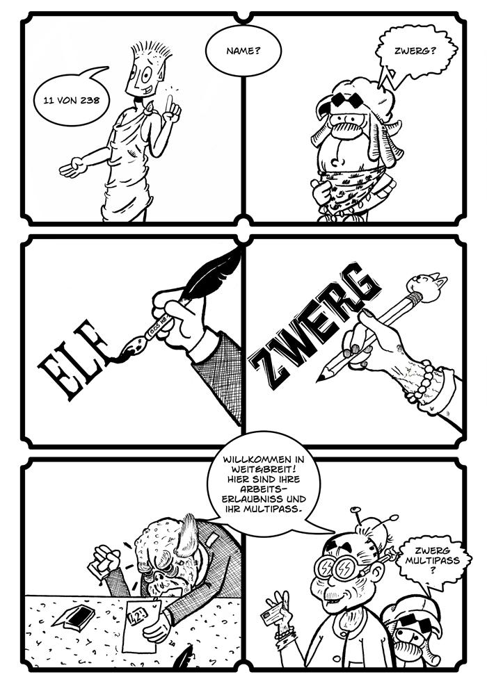 Zwerg/Elf - Abenteuerabschnittspartner: Seite 42