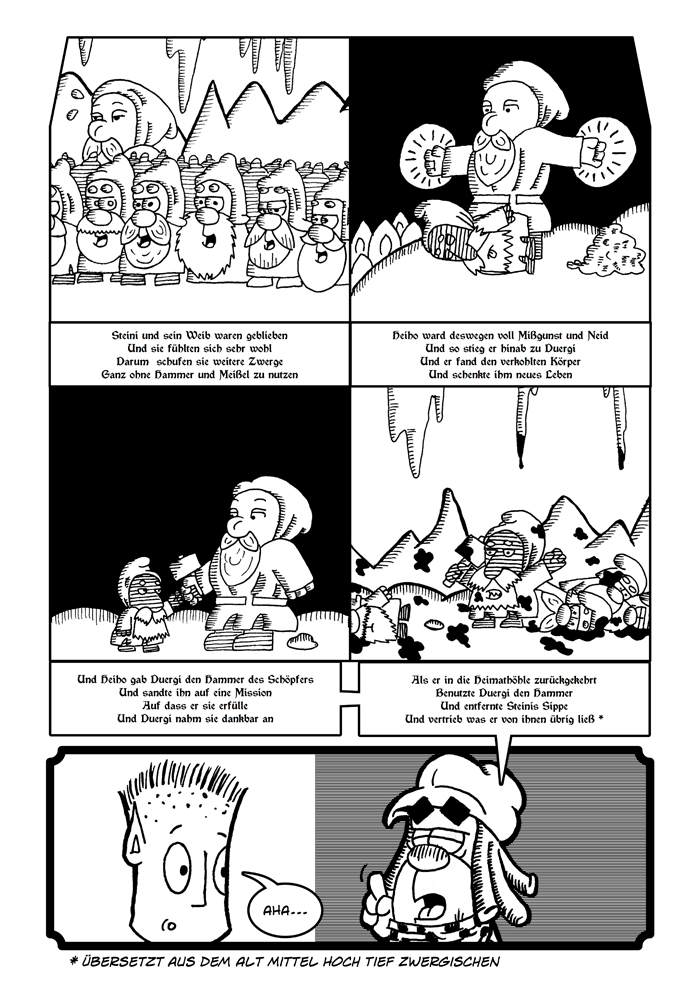 Zwerg/Elf - Abenteuerabchnittspartner: Seite 48