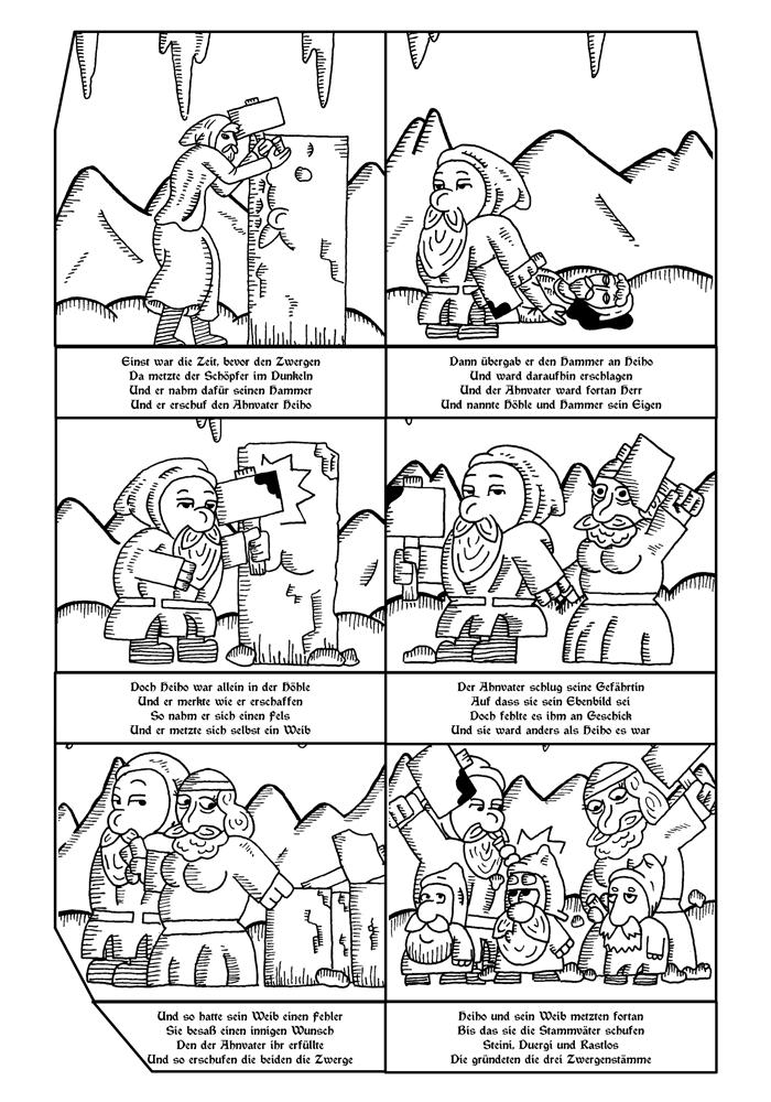 Zwerg/Elf - Abenteuerabchnittspartner: Seite 46