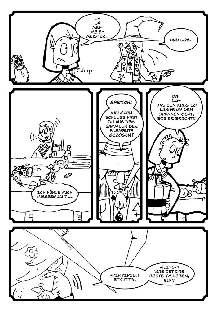 Zwerg/Elf - Abenteuerabschnittpartner: Seite 76