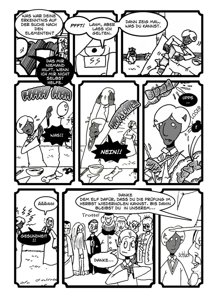 Zwerg/Elf - Abenteuerabschnittspartner: Seite 74