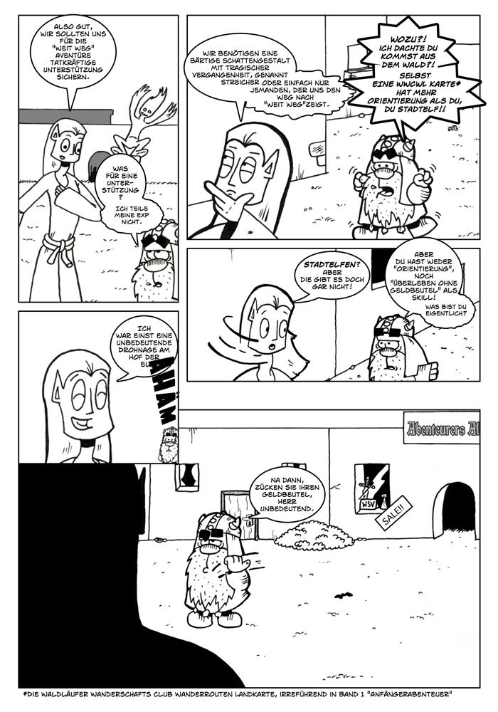Zwerg/Elf - Würfelbeutelvergesser: Seite 9